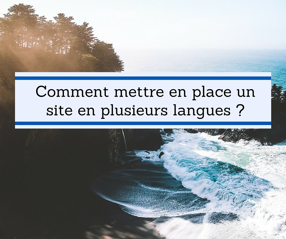 traduction site : quels outils